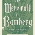 The Werewolf of Bamberg (A Hangman's Daughter Tale) Review