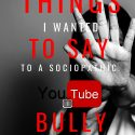 cover THINGS I WANTED TO SAY TO BULLY EBOOK