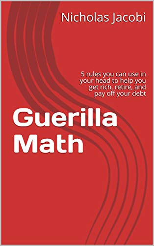 """How much money will you have when you retire? What should you save every month? Is that new mortgage really worth it? You can answer all these questions in your head, no calculator needed, while you're sitting across the desk from a supposed """"expert."""" The rules of thumb in this book will let you estimate how much your investments will grow, how long it will take to pay off your debt, and how close you are to saving up for your golden years. Designed to change your life this short book will teach you how to project your money, your future, your life in five rules, and give you some case studies from the financial world's successes and crises."""
